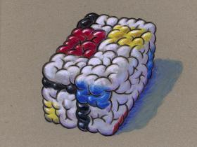 Mondrian´s Brain